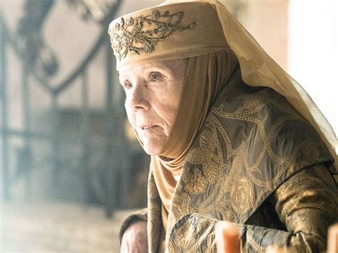 game of thrones actress rigg game of thrones actress on her character s fantastic