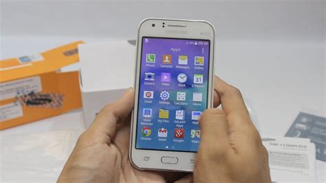 samsung galaxy j1 sm j100f unboxing and review in bahasa melayu malaysia