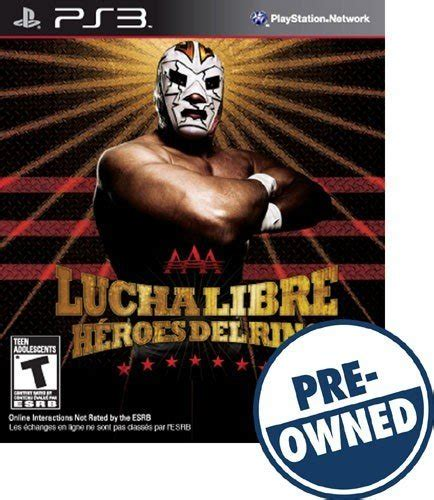 Lucha Libre Heroes Phone lucha libre aaa heroes ring pre owned playstation