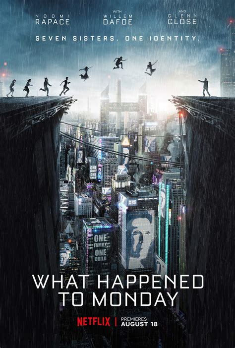 what happened to monday what happened to monday 2017 poster 1 trailer addict