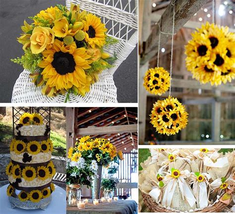 sunflowers decorations home beautiful wedding flowers inspiration of sunflowers as