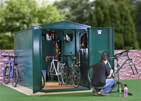 Asgard Sheds Bike Storage by Metal Bike Storage Secure Bike Shed Storage From Asgard