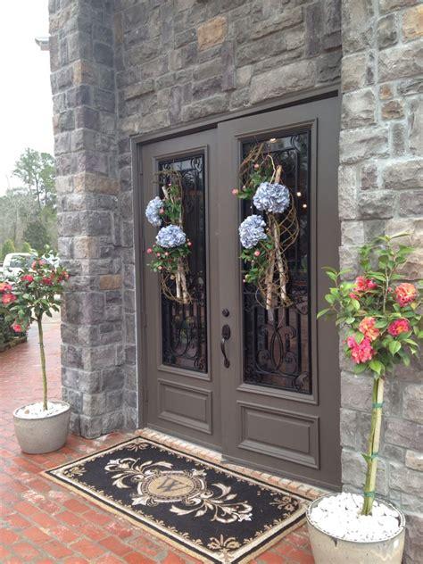 woodlands fabrics interiors spring door swags www