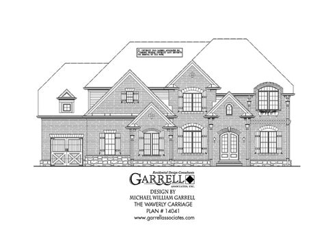 carriage house plans ranch home plans waverly carriage house plan covered porch plans