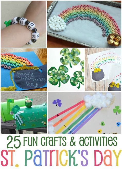 s day activities for toddlers 25 st patrick s day crafts and activities for