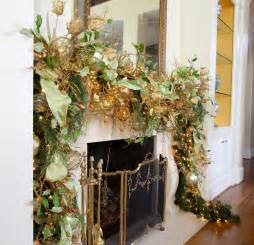 garland ideas gold with sparkles a magical christmas theme betterdecoratingbiblebetterdecoratingbible
