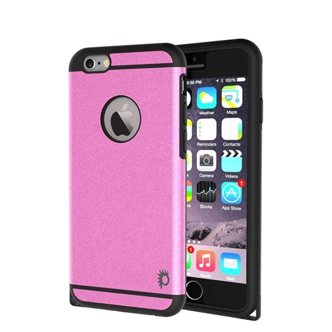 Anticrack Tpu Iphone 6g 6s Free Tempered Glass iphone 6s plus 6 plus punkcase galactic series
