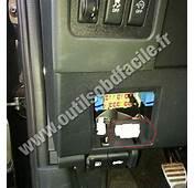 Prise OBD2 Dans Les Nissan Qashqai 2007  2013 Outils