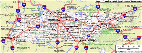 tennessee road map tennesee map fotolip rich image and wallpaper