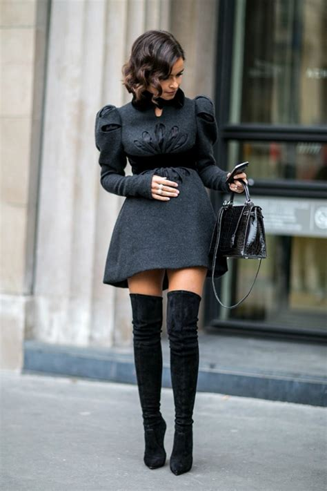 how to style the knee boots