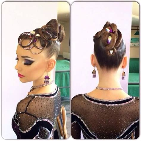 ballroom hair styles with bangs 167 best ballroom hair makeup and accessories images on