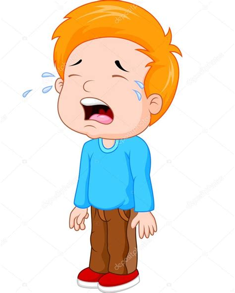 imagenes de trollface llorando dibujos animados de un ni 241 o llorando vector de stock