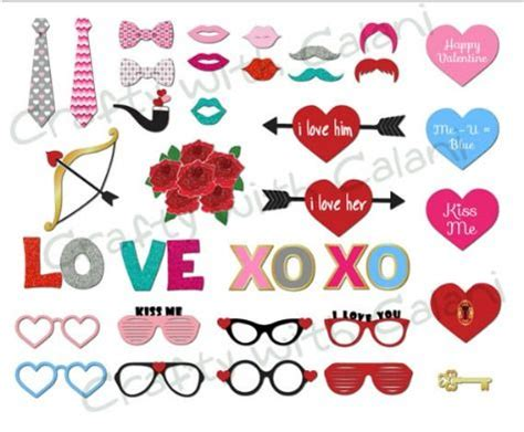 s day photo prop ideas the best valentine s day printable photo booth prop sets