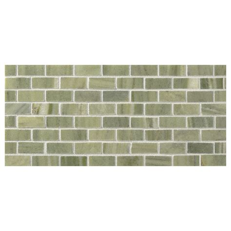 tile pattern offset offset brick mosaic tile polished canopy green marble