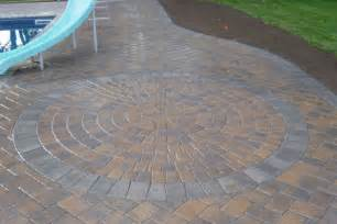 Patio Paver Kits Circular Patio Kit Home Depot Best Home Design And Decorating Ideas