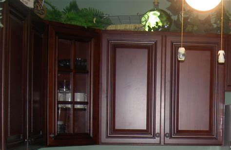 Staining Stained Cabinets by Staining Kitchen Cabinets Try It For Painting