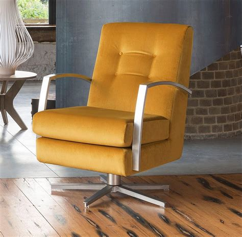 Alstons Chairs by Alstons Upholstery Stockholm Oslo Swivel Chair