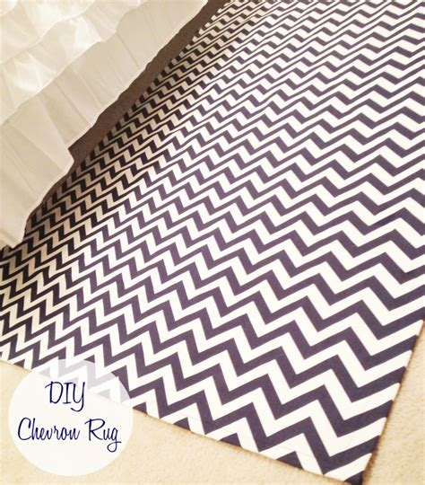 Monogrammed Rugs by The Monogrammed Diy Chevron Rug