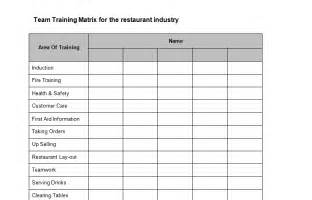 restaurant bookkeeping templates health safety bizorb