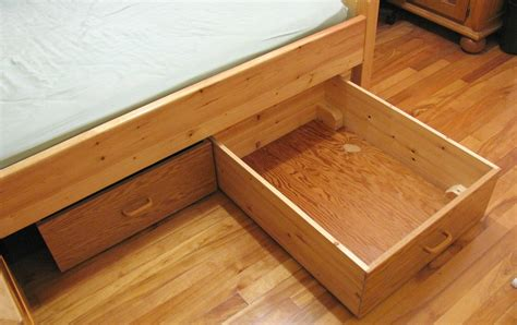 How To Make Drawers Bed bed storage drawers
