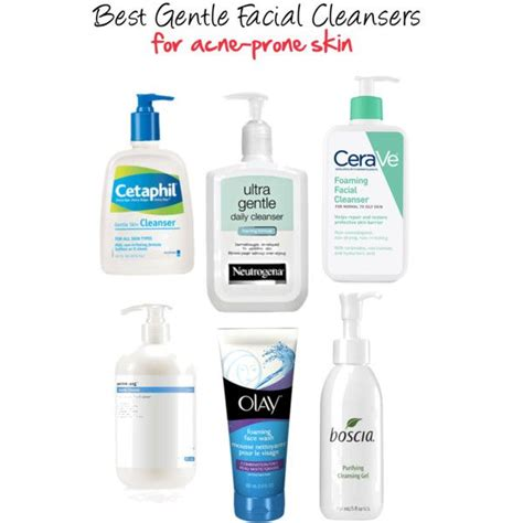 7 Best Cleansers by Best Gentle Cleansers For Acne Prone Skin
