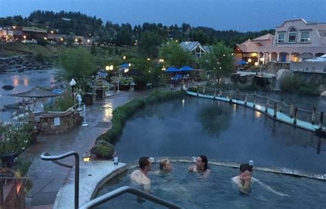 hot springs paradise   springs resort  pagosa