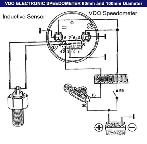 vdo instruments wiring diagram wiring diagram with