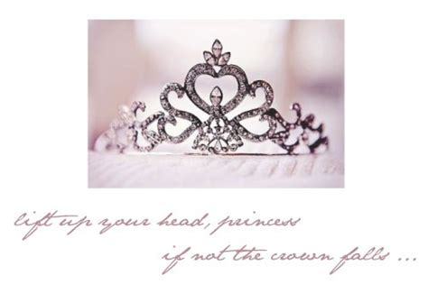 lift on crown of head lift up your head princess if not the crown falls