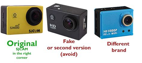 Sjcam Original sjcam or sj scam difference between the real and a