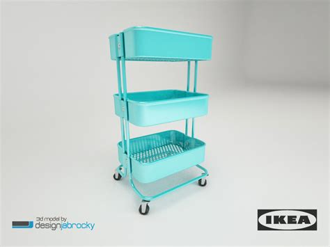 Ikea Raskog Troli 4 ikea raskog trolley 3d max