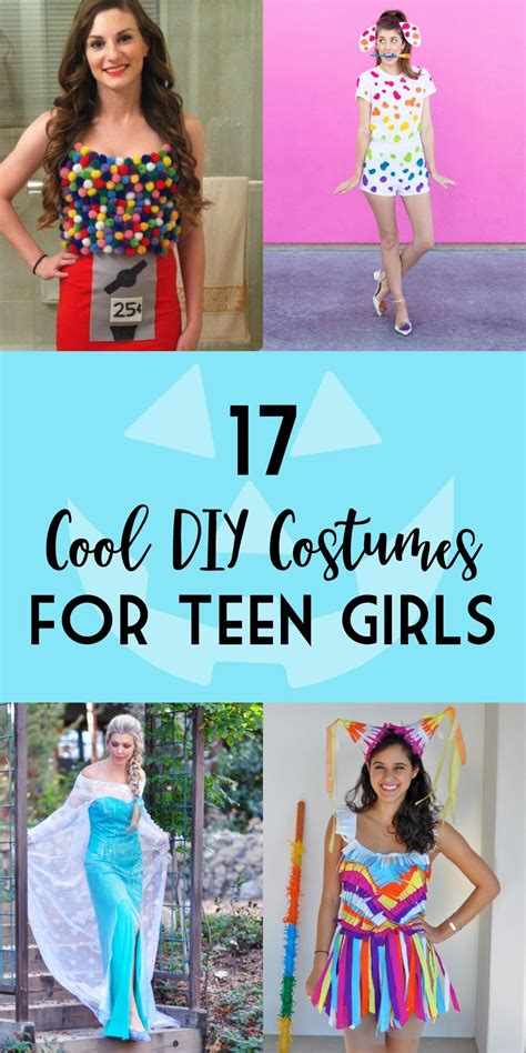 great diy halloween costumes  teen girls halloween