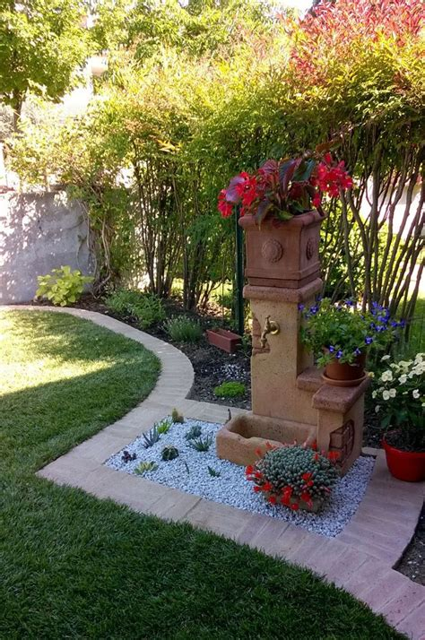 fontana in giardino oltre 25 fantastiche idee su fontane da giardino su