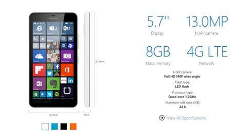 lumia 640 available now 640 xl arriving shortly lumia 640 xl spec 700px coolsmartphone
