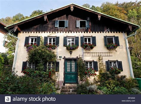 buy house in austria holiday villa in the salzburg country house style mattsee flachgau stock photo