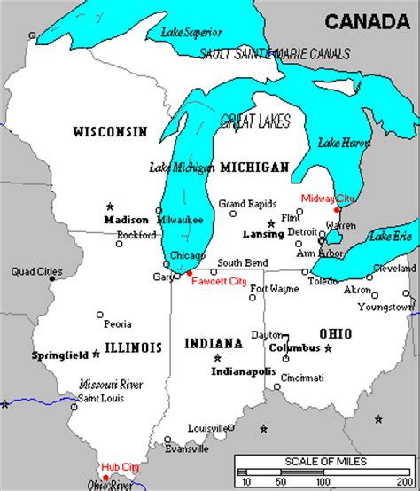 us map states great lakes hairstyle and fashion map of great lakes states