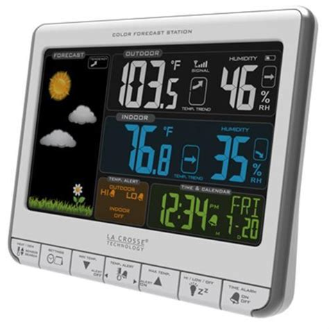 la crosse charger manual la crosse color wireless weather station with usb charging