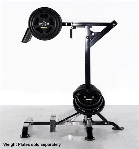 sa gear weight bench powertec leverage squat calf machine l sc13 leg press hack