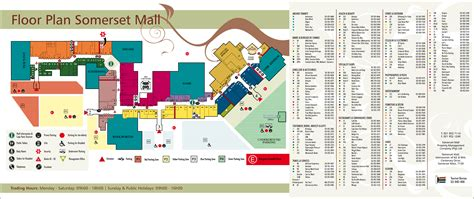 Layout Of Somerset Mall | floor plan somerset mall somerset west shopping
