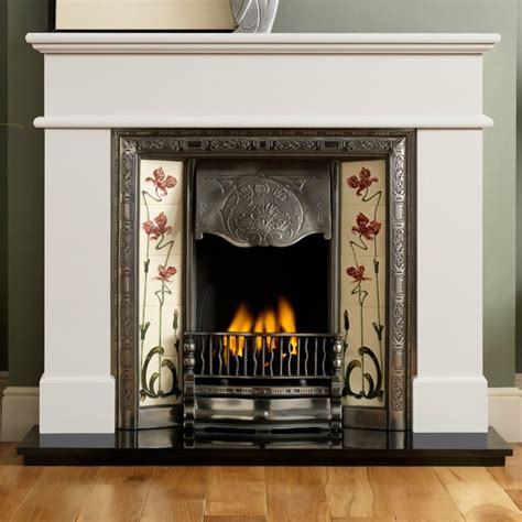 pisa ivory perla marble surround