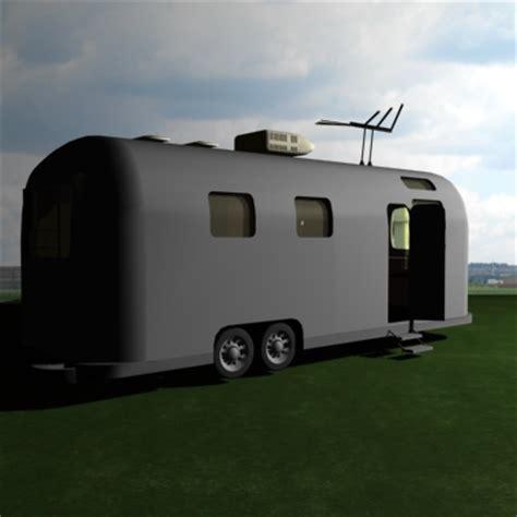 trailer design software 3d model airstream trailer software design