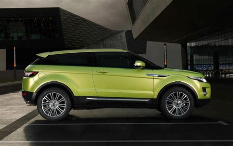 2012 Range Rover Evoque Two Door In Green Photo 4