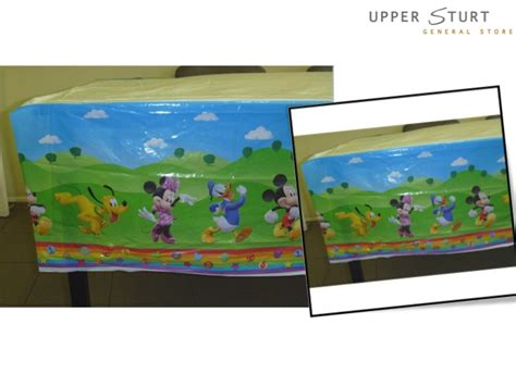 mickey mouse clubhouse table cover mickey mouse clubhouse tablecover 1 sturt
