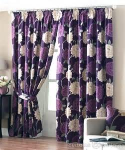 aubergine purple ready made designer curtain