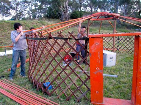 Building A From Scratch by Building A Yurt From Scratch Resources Milkwood