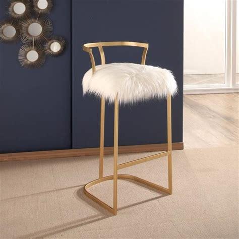 gray fur vanity stool modern gray fur vanity stool products bookmarks design
