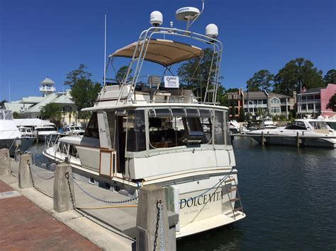 aft cabin diesel boats for sale 1985 egg harbor diesel aft cabin motor yacht power boat