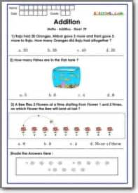 addition practice for class 1 math olympiad imo practice