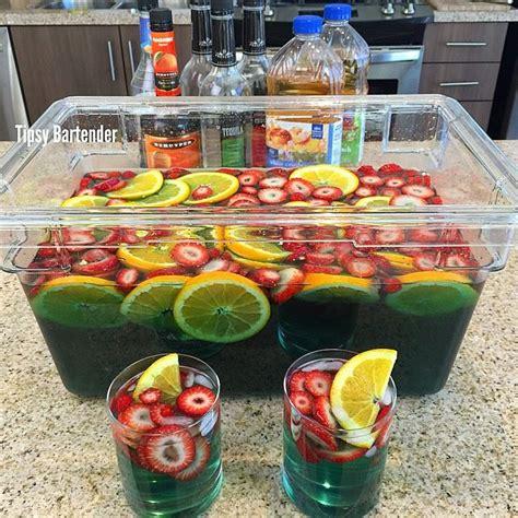 the best jungle best bowl jungle juice tipsybartender