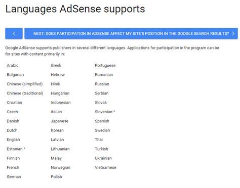 adsense malaysia cas positif google adsense dah menyokong blog bahasa melayu