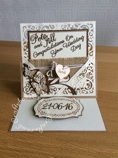 Wedding Gift Using Invitation by Wedding Card And Matching Gift 4 Craftybabs Creative Crafts